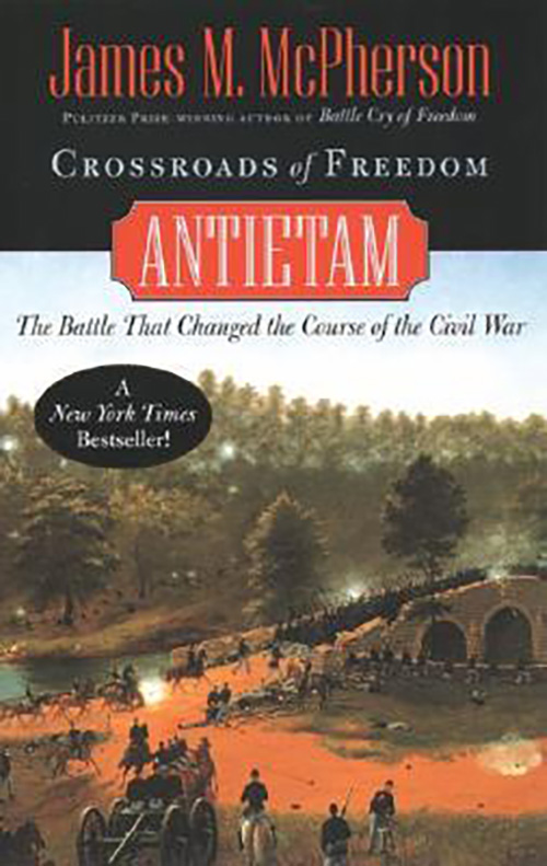 Book cover for Crossroads of Freedom Antietam by James M. McPherson